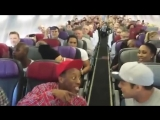 THE LION KING Australia- Cast Sings Circle of Life on Flight Home from Brisbane