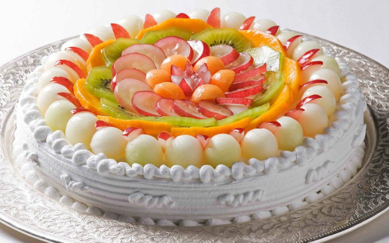 Ас мәзірі: Жеміс торты