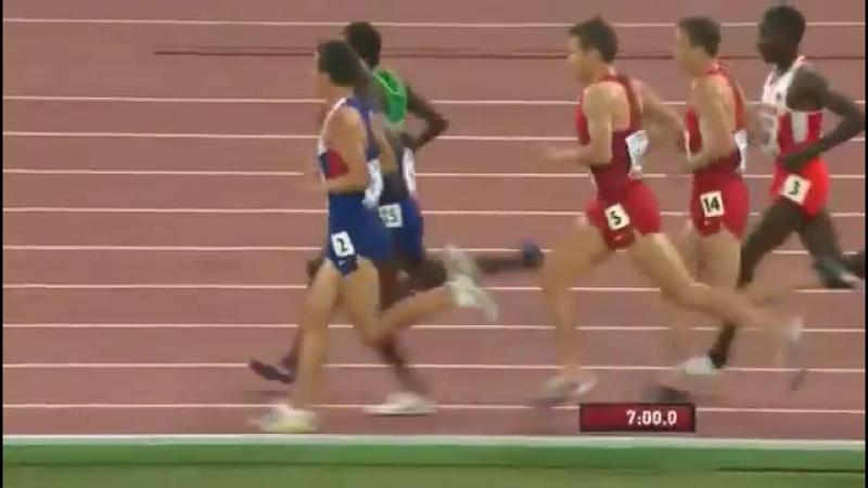 Мо Фара. 5000 м. Финал в Пекине 2015