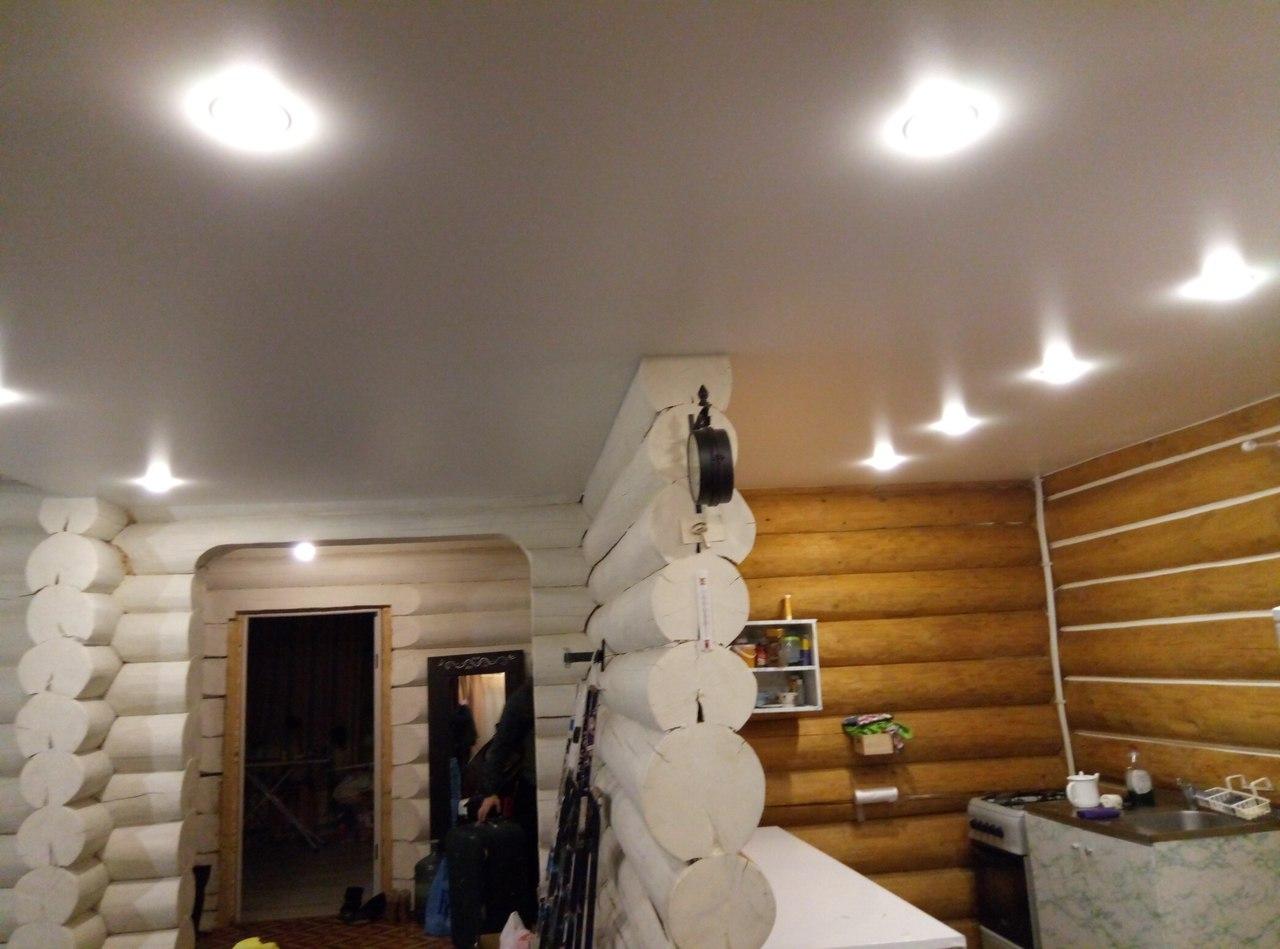 Натяжные потолки «Звездное небо» по Санкт-Петербургу и Ленинградской области