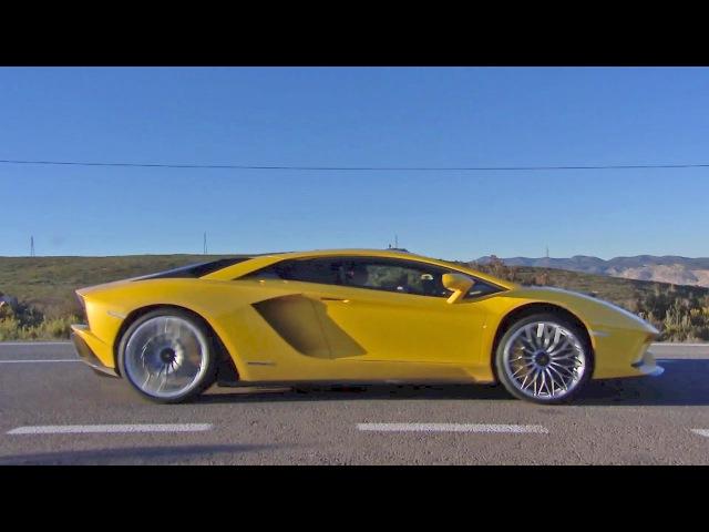 Премьера Lamborghini Aventador S на треке Рикардо Тормо в Валенсии смотреть онлайн без регистрации