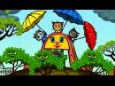 Песенки для котят - Дождик, дождик, уходи! | Считалочки - Три котенка | Мультик для  ...