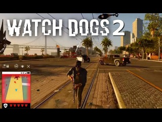Watch Dogs 2 FIRST GAMEPLAY! Free Roam Parkour, Hacking, Open World Activites & more! (E3 2016)