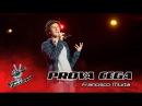 Francisco Murta - Georgia on my mind | Prova Cega | The Voice Portugal