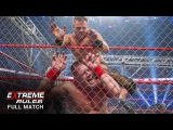 FULL MATCH - WWE Title Triple Threat Steel Cage Match Extreme Rules 2011  (WWE Network)