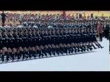 Прощание славянки Китайская версия  Марш песня