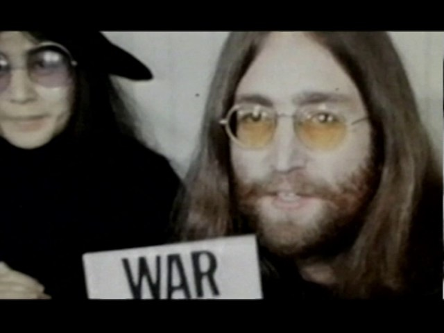 John Lennon Yoko Ono: WAR IS OVER! (If You Want It)