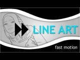IC Photoshop Line Art by Foxkills Fast Motion