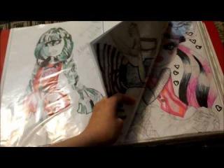 Мои рисунки Винкс и монстер хай