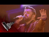 Craig Ward performs 'Castle on the Hill' The Semi Finals  The Voice UK 2017