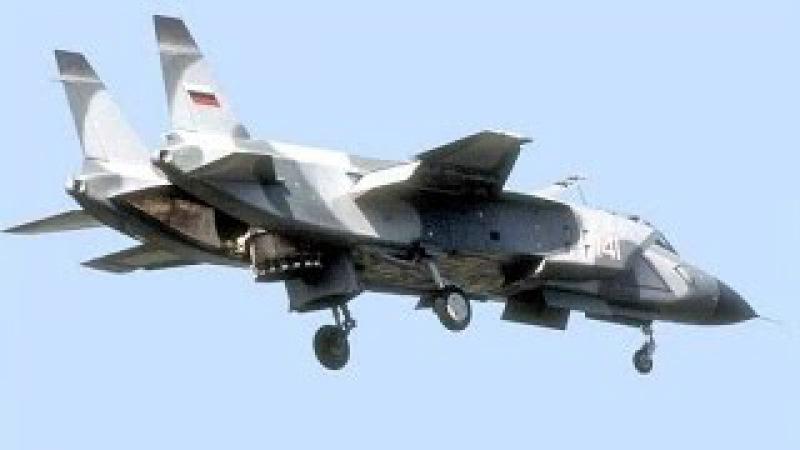 Часть 2: ЯК-141,многоцелевой сверхзвуковой всепогодный палубный самолёт вертикал ...