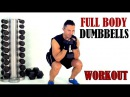 FULL BODY WEIGHTS WORKOUT with a pair of dumbbells. Interactive exercises!