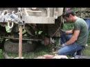 Сварка без сварочного аппарата Заварили сломанный УАЗ в лесу имея держак электроды авто аккумулятор cdfhrf tp cdfhjxyjuj fggfh
