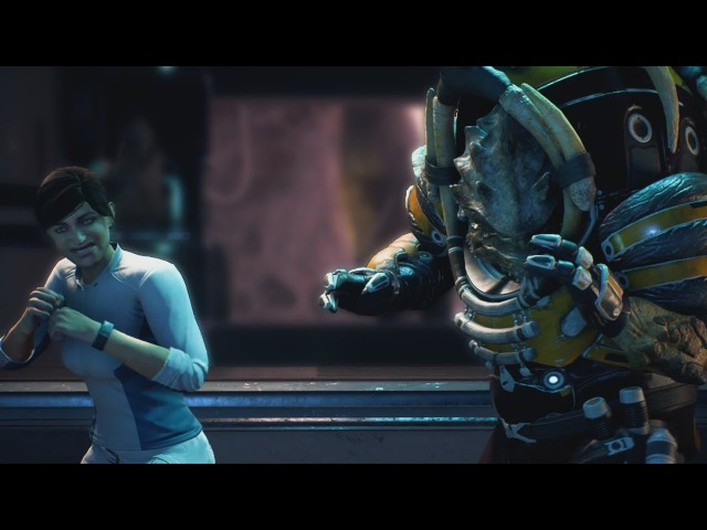 Mass Effect Andromeda Drack Ryder Bar Fight