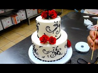 Свадебный торт сделать своим руками