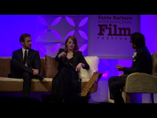 SBIFF 2017 - Ryan Gosling & Emma Stone Discuss Developing Characters In