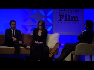 SBIFF 2017 - Ryan Gosling & Emma Stone Discuss Accolades For