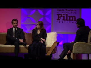 SBIFF 2017 - Ryan Gosling & Emma Stone Discuss Challenges Making