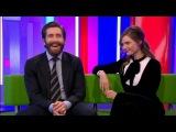 LIFE 2017 movie Jake Gyllenhaal &amp Rebecca Ferguson Interview