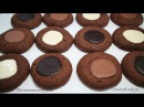 ПЕЧЕНЬЕ РЕЦЕПТ - Печенье с Шоколадной Начинкой - làm BÁNH QUY SOCOLA - Chocolate Cookies Recipe
