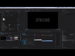 How to edit like Kanye West - All of the Lights Music Video Neon Strobe + Flashing Text Effect