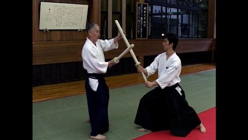 МИНОРУ ИНАБА - мастер школы Касима Син-рю. Кэндзюцу.