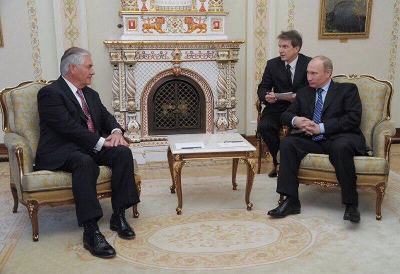 Переговоры Лаврова и Тиллерсона