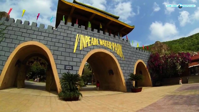 Нячанг Вьетнам Остров Винперл Vinpearl Island Nha Trang Vietnam
