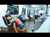 Минет в метро.. Что с людьми? Посмотрите на их равнодушие.( Я в шоке!