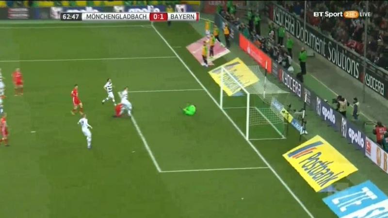 Боруссия М 0-1 Бавария. Гол Томас Мюллер (Бавария)