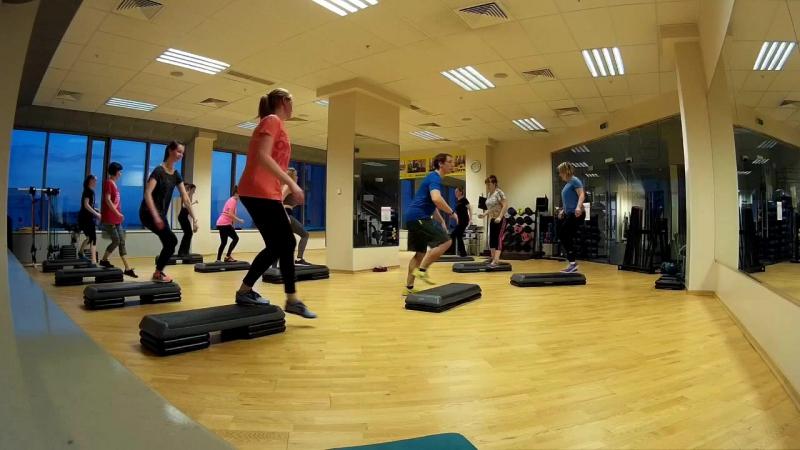 Степ в фитнес-центре Барс Premium