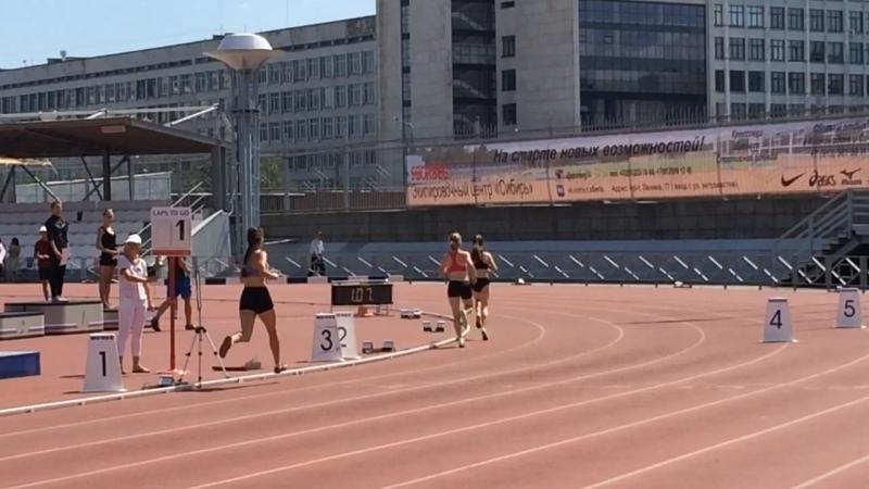 800 метров (Гундорина Анна)