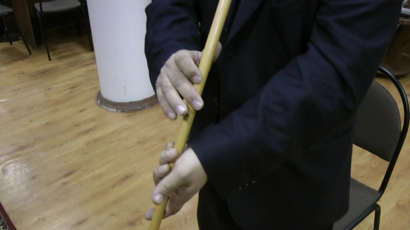 Боронғо Һалдат маршы - обучение игре на курае от Азата Аиткулова