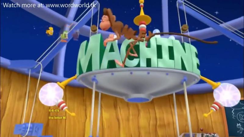 WordWorld S01 E15 Pigs Present, Tick Tock Space Clock