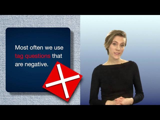 Everyday Grammar: Tag Questions