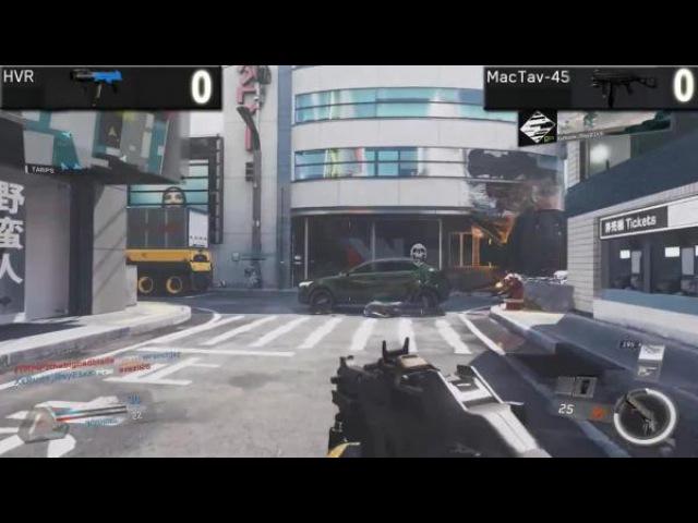 HVR VS MacTav-45 (Call of Duty Infinite Warfare Weapons Versus)