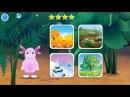 Лунтик Учим Английский язык - Времена года Развивающий Мультик Игра для детей Like...
