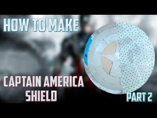Как сделать щит Капитана Америки| 2 часть / How to make the shield of Captain America | Part 2