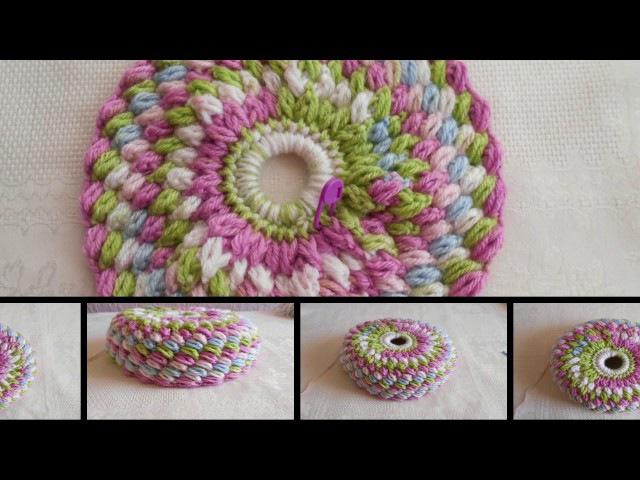Gorro coletero tejido a crochet, fácil y rápido parte 1