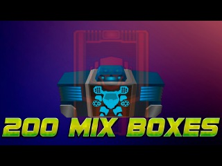 [SuperMechs] OPEN 200 MIX ITEM BOXES MYTHICAL ITEMS