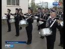 Барабанщицы Белокалитвинского кадетского корпуса готовятся к Параду Победы