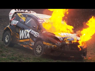 Tanner Foust Bests a Rowdy Field at Rally Seattle | Red Bull Global Rallycross