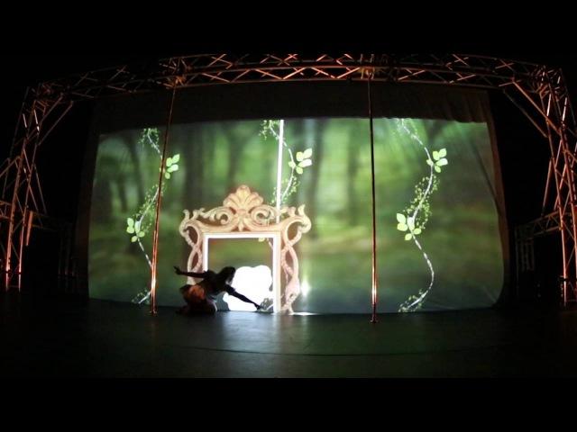 Kristy Sellars Pole Theatre 2016 - Alice In Wonderland (Алиса в Стране Чудес)