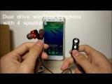 Ubit WY-S11 Dual Drive Bluetooth Wireless Earphone