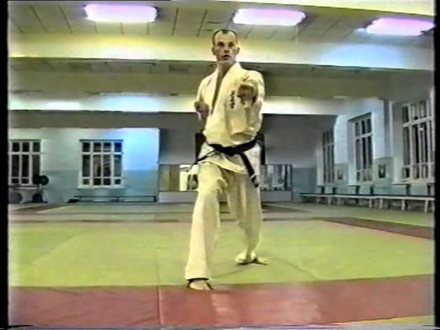 Школа Киокушинкай. Учебный фильм. Часть 2/School Of Kyokushin. A training film. Part 2