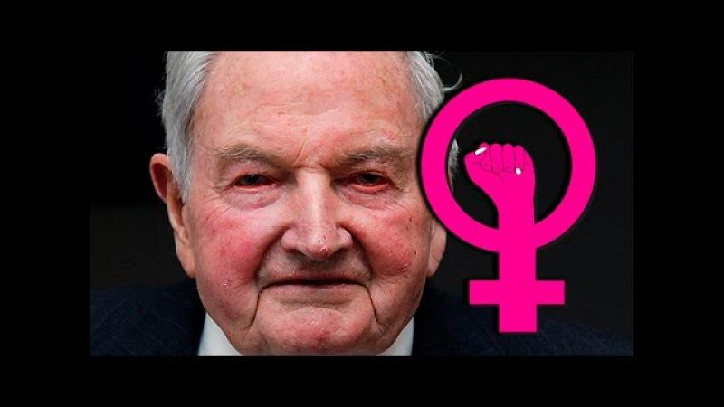 Rockefeller Financia al Feminismo para Destruir la Sociedad ⚠️
