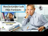 Cash Flow Forecasts in Microsoft Dynamics NAV 2016 How to create, setup and predict cash flow