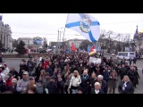 23 марта 2014. Одесса. Русский марш (масштаб)