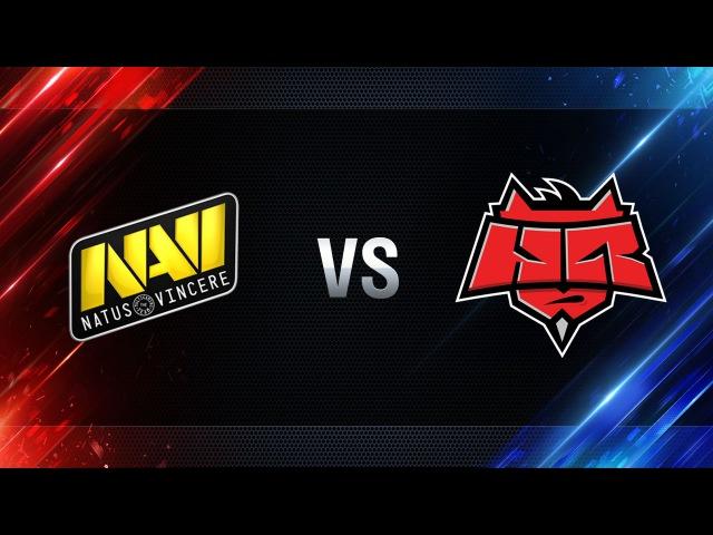 Natus Vincere vs HellRaisers - day 4 week 4 Season I Gold Series WGL RU 2016/17
