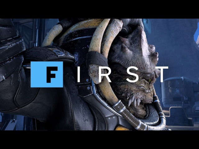 Mass Effect: Andromeda - Introducing Drack Your Krogan Teammate (4K) - IGN First